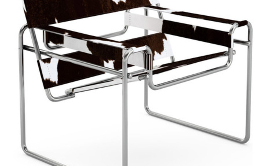 L'Utopie de Flaine : La Wasilly Chair de Marcel Breuer